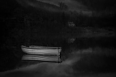 Loch Achray (:) Angela) Tags: lochachray callander scotland fishingboat sunrise