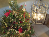 Christmas tree at Basildon Park