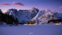 This is my favorite photo (for now) (104gian) Tags: dolomiti dolomiten sunrise mountain montagna trekking misurina landscape paesaggio