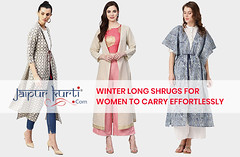 Winter-Long-Shrugs-For-Women-To-Carry-Effortlessly (mailtojaipurkurti) Tags: womens clothing kurti shrugs winter wear online shopping jaipurkurti fashion style india suits ethnic