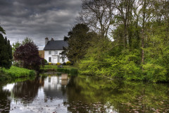 Farmhouse [Explore] (nigdawphotography) Tags: mundon essex farmhouse pond reflection trees