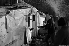"""Ghost Children Place 39"" (TBWLC Photography) Tags: fdrouet tbwlc nb bw monochrome slum bidonville campdemigrants migrantcamp street nikon d610 aubervilliers réfugiés refugees"
