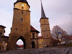 Arnstadt (germancute ***) Tags: arnstadt thuringia t thüringen germany town turm tower