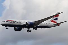 British Airways G-ZBJC LHR 07/08/19 (ethana23) Tags: planes planespotting aviation avgeek aircraft aeroplane airplane boeing 787 7878 britishairways ba speedbird