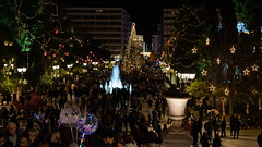 Syntagma Sq - Athens, Greece (Ioannisdg) Tags: athens celebration christmastree flickr ioannisdg greece square nightshot ioannisdgiannakopoulos syntagma atticaregion ithinkthisisart
