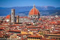 Santa Maria del Fiore (Ivo.Berta) Tags: italy italia europe city town firenze florence architecture building old history cathedrale church color colors colour colours blue red vacation holiday summer photo photography travel roof