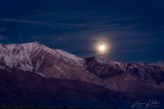 End of the Night (forestbreeze) Tags: owensvalley fullmoon moonset easternsierra bigpine