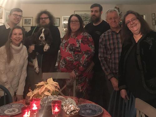 Christmas Eve dinner 2019 ©  Michael Neubert