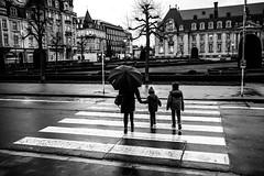 rainy winter day (Rigpa22) Tags: street streetphotography sw strasse schwarz stadt schatten bw black city people