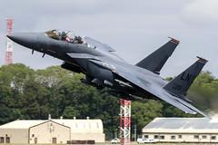 96-0201 / United States Air Force / McDonnell Douglas F-15E Strike Eagle (Charles Cunliffe) Tags: canon7dmkii aviation raffairford egva ffd unitedstatesairforce usaf mcdonnelldouglasf15 mcdonnelldouglasf15estrikeeagle 960201