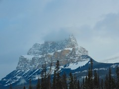 Getaway miscellany - Castle Mountain en route to Lake Louise (benlarhome) Tags: banff lakelouise canmore canada