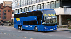 50406 YX69LCJ Stagecoach Western (busmanscotland) Tags: 50406 yx69lcj stagecoach western yx69 lcj volvo b11rle plaxton panorama megabus megabuscom buses scottish citylink