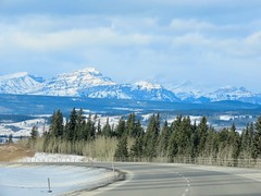 Getaway miscellany - Mountain views from the highway (benlarhome) Tags: canada banff canmore lakelouise