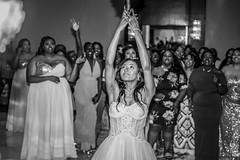 Bouquet toss (grexsys) Tags: bouqettoss wedding brides brideandgroom marriage married reception monochrome blackandwhite blackandwhitephotography people blackwhite nikon nikonphotography nikond750 bouqet ladies friends
