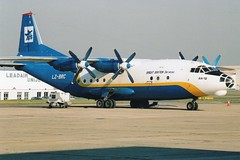 LZ-BRC AN12 Paris-LBG 01/03/2004 (liekwxtt43) Tags: lzbrc an12 lfpb lbg antonov