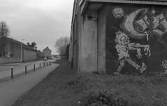 Zombie (christophe.vinchon) Tags: mur tag hp5 nikonf4s