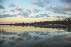 Lake Dawn (CraDorPhoto) Tags: canon6d lake nature water reflections landscape outside outdoors waterscape uk sky clouds cambridgeshire