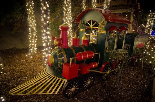 Chrismas Railroad