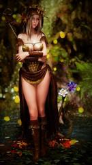 Alseid 7 (Obducto) Tags: screenshot skyrim tesv elf girl