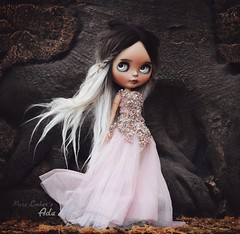 December ✨ (pure_embers) Tags: pure embers blythe doll dolls laura england uk custom ooak sunshine holiday tan ada embersada takara neo ombre hair alpaca reroot girl photography chailai forest pink dress rushing