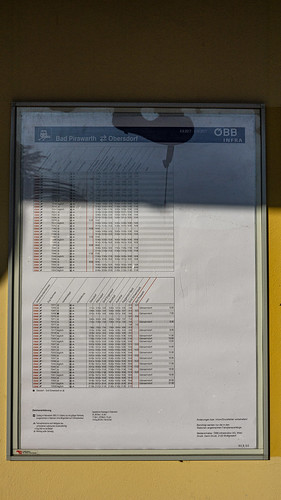 Bad Pirawarth timetable
