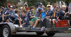 Boy Scouts Of America (Scott 97006) Tags: boys scouts parade trailer uniforms patriots