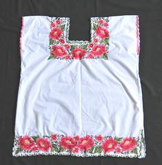 Maya Hipil Huipil Yucatan Mexico Textiles (Teyacapan) Tags: mayan ropa clothing mexican yucatan embroidery hipil huipil