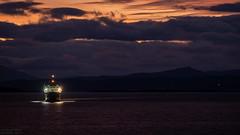 Ferry is coming (Thdenz) Tags: schottland insel isleofmull scotland turbotwin calgarybeach dafmuseum eindhoven glengormcastle niederlande nederland daf callander tobermory