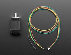 Mini Stepper Motor - 200 Steps - 20x30mm NEMA-8 Size (adafruit) Tags: 4411 stepper motor ministepper ministeppermotor electronics accessories addons projects kits kitsprojects