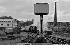 The Streamlined Service (garstangpost.t21) Tags: rawtenstall a4 60009 hardman brothers mill chimney listed