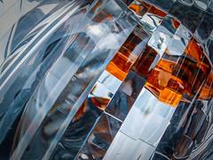 Facets (Steve Crane) Tags: amber car facet glass headlamp light reflection vehicle