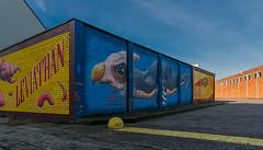 The colour wall III (jefvandenhoute) Tags: belgië antwerpen merksem wall murals muralart
