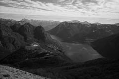 Monte Boglia view (Toni_V) Tags: m2400098 rangefinder digitalrangefinder messsucher leicam leica mp typ240 type240 28mm elmaritm12828asph hiking wanderung randonnée escursione monteboglia lugano italia alps alpen landscape landschaft switzerland schweiz suisse svizzera svizra europe lagodilugano lake see bw monochrome schwarzweiss blackwhite silverefexpro2 niksoftware clouds sky ©toniv 2019 190302