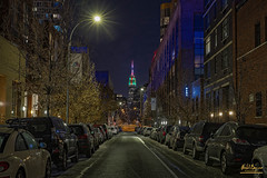 Empire Street (The way I see the world.) Tags: nyc queens park urban city night buildings street view