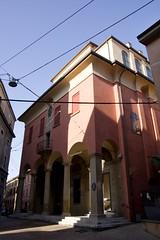 IMGP6184 (hlavaty85) Tags: bologna boloňa ex chiesa san colombano oratoř oratorio kostel church