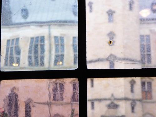 Castle window glass