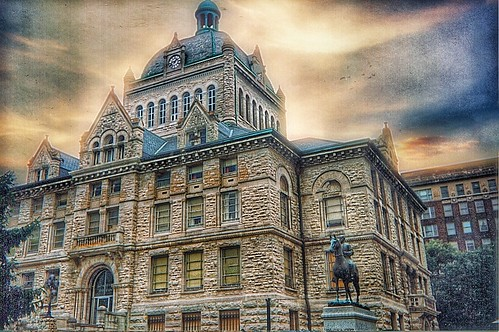 Lexington Kentucky - Old Fayette County Courthouse - Now The Pavillion