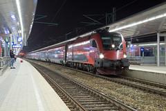 ÖBB 1116 244 Wien Meidling (daveymills37886) Tags: öbb 1116 244 wien meidling baureihe siemens es64u2 railjet taurus