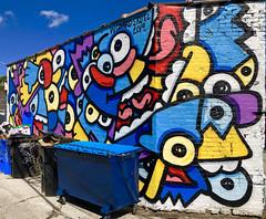 Bart Simpson by Wizard Skull (wiredforlego) Tags: graffiti mural streetart urbanart aerosolart publicart chicago illinois ord wizardskull simpson
