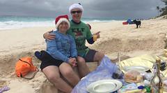 Christmas on the Beach at Elbow Beach