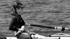 Girl (patrick_milan) Tags: girl yole sea mer sport cap glass hair