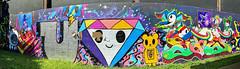 Toki Doki (wiredforlego) Tags: graffiti mural streetart urbanart aerosolart publicart chicago illinois ord