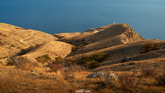 On the edge of the earth (zaxarou77) Tags: landscape color nature travel crimea sea water mountain ornage earth russia outdoor road sony sonyclub carl zeiss carlzeiss 1635 1635f4 sel fe fe1635f4za sel1635f4za