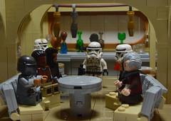 The Mandalorian: Chapter 7 (mkjosha) Tags: lego star wars mandalorian stormtroopers bar cantina