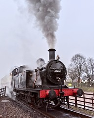 Great Central Railway Rothley Leicestershire 26th December 2019 (loose_grip_99) Tags: greatcentral railway railroad rail train boxing day gcr steam engine locomotive rothley jinty fowler 3f 060t 47406 tank gassteam uksteam leicestershire eastmidlands england uk trains railways december 2019 transportation preservation