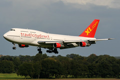 TF-AMJ (PlanePixNase) Tags: aircraft airport planespotting haj eddv hannover langenhagen excel airways travelcitydirect boeing b743 747 747300 jumbo 743