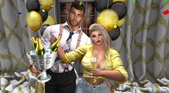 Happy New Year 2020 (antoniohunter55) Tags: villena maitreya jean blueberry knotted top exile hair signaturegianni bento catwa happynewyear champagne grposeletstoasthappynewyear lopbackdropshappynewyear