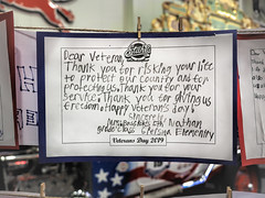 Thank You Veterans (lleon1126) Tags: veteran veteransday letter handwrittenletter handwritten holiday tribute