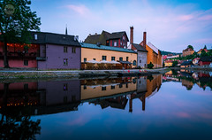 Mirror | rorriM (dlerps) Tags: amount cz ceskykrumlov czech czechrepublic daniellerps eu europeeuropa lerps photography sony sonyalpha sonyalpha99ii sonyalphaa99mark2 sonyalphaa99ii httplerpsphotography lerpsphotography twilight civiltwilight reflection water river architecture buildings vltava colours bluehour longexposure evening dusk purple yellow orange carlzeiss planar5014za planart1450 carlzeissplanar50mmf14ssm