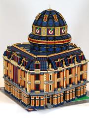 Apple Square Research Center (RedCoKid) Tags: lego legodigitaldesigner ldd modular building moc science research dome